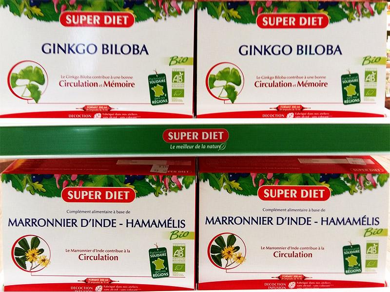 Ginkgo Marronnier d'Inde