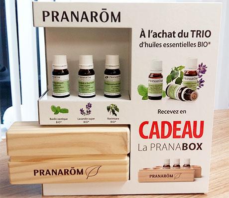 Pranabox coffret d'huiles essentielles